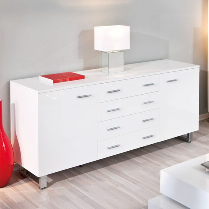 46 kreative modelle sideboard in weiss. Black Bedroom Furniture Sets. Home Design Ideas