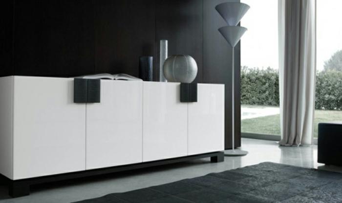 sideboard-in-weiss-originelles-modell-schwarze-wände
