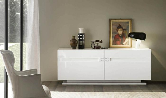 46 kreative Modelle Sideboard in Weiss! - Archzine.net