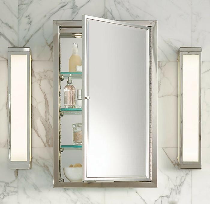 44 Modelle Spiegelschrank fürs Bad mit Beleuchtung! - Archzine.net