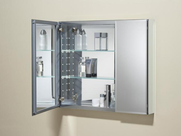 spiegelschrank bad mit beleuchtung tolle gestaltung. Black Bedroom Furniture Sets. Home Design Ideas