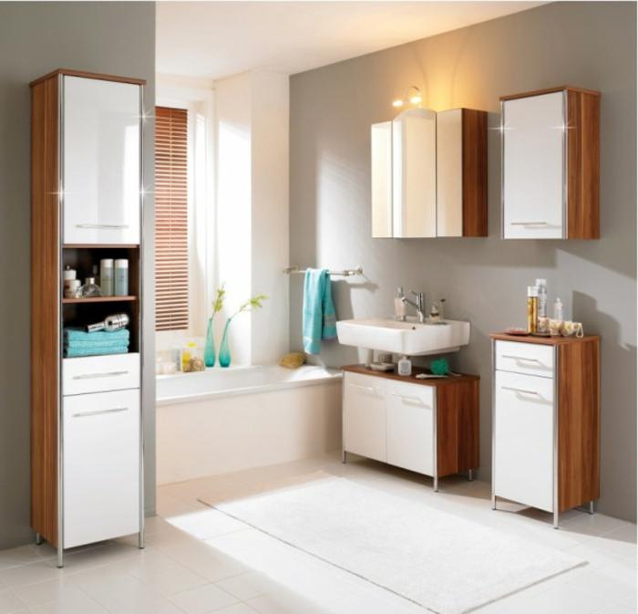 Badezimmer modelle  44 Modelle Spiegelschrank fürs Bad mit Beleuchtung! - Archzine.net
