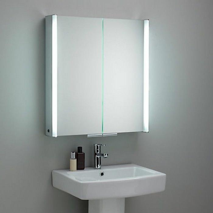 Badezimmer spiegelschrank beleuchtung