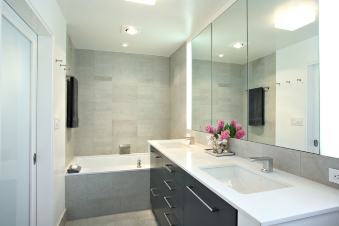 44 Modelle Spiegelschrank F Rs Bad Mit Beleuchtung Double Bad Design