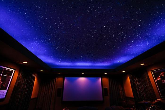 Sternenhimmel Zimmerdecke Led Faser : sternenhimmelausledinnenraumelegantundoriginellausstatten