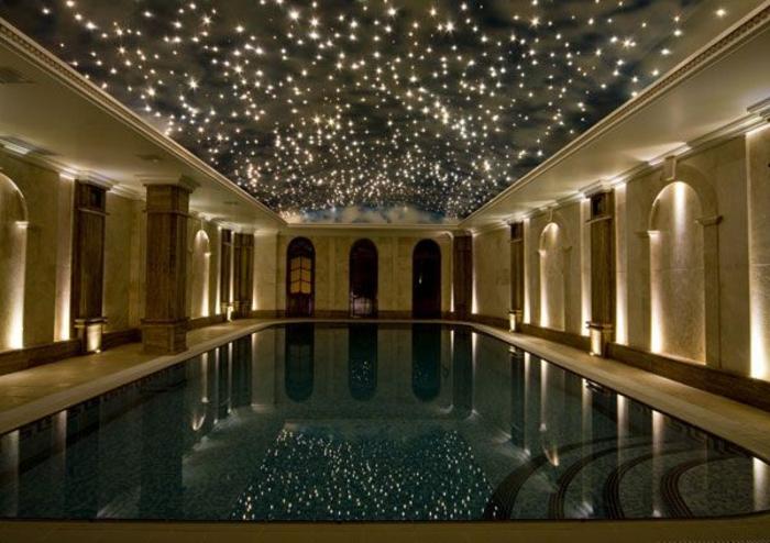 Sternenhimmel Zimmerdecke Led Faser : 44 Fotos Sternenhimmel aus Led für ein luxuriöses Interieur!