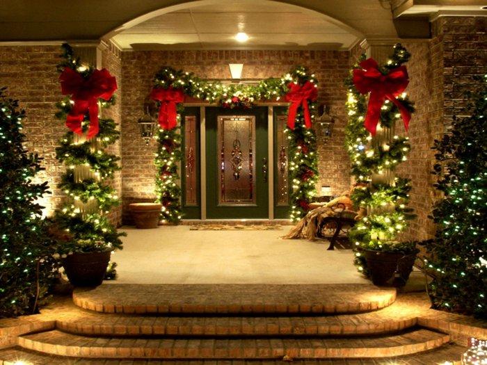 Amerikanische Weihnachtsdeko Aussen weihnachtsdeko für außen weihnachtsdeko f r au en 46 ideen f r