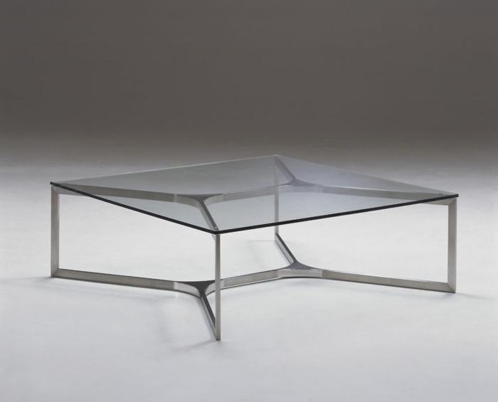 Couchtisch aus glas und edelstahl f r mehr eleganz im raum for Moderne couchtische glas edelstahl