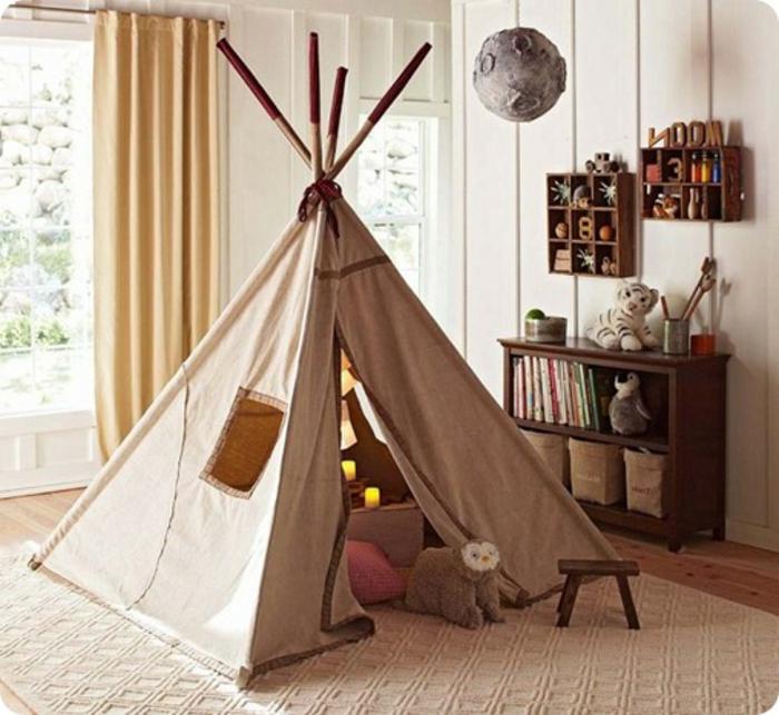 Zelt Für Kinderzimmer : Das tipi zelt abenteuer für kinder archzine