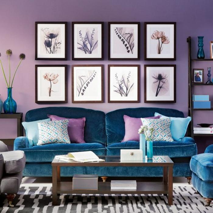farbgestaltung wohnzimmer cappuccino:Aristokratisches Wohnzimmer mit ...