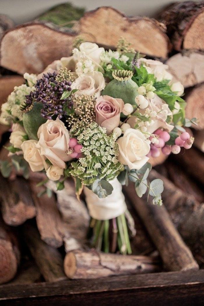 vintage-brautstrauss-für-Hochzeit-im-Herbst