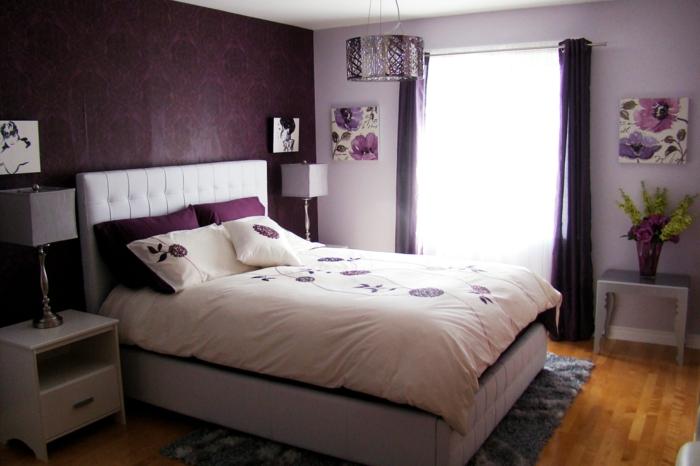 wandfarbe-beere-tolles-schlafzimmer-wunderschöne-farbige-wände