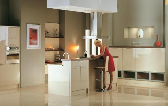 wandfarbe-cappuccino-küche-gestalten