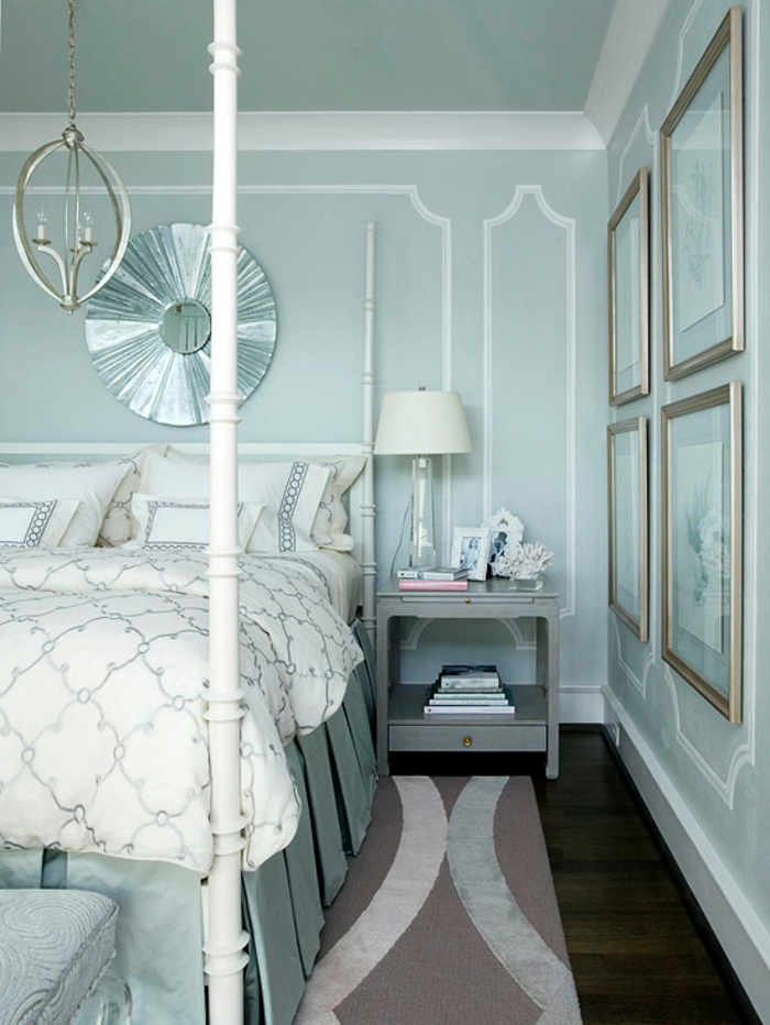 wandfarben-wirkung-schlafzimmer-wandfarbe-hellblau