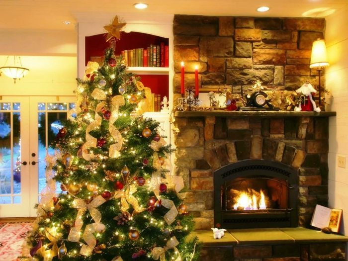 Weihnachtsbaum mit beleuchtung: 40 unikale fotos!   archzine.net