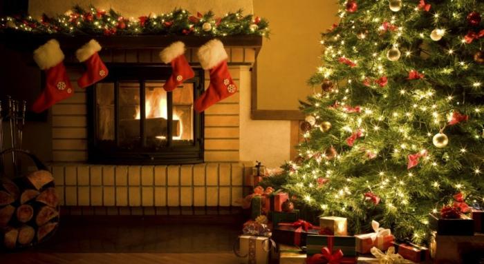 Weihnachtsbeleuchtung Wohnzimmer.Weihnachtsbaum Mit Beleuchtung 40 Unikale Fotos Archzine Net