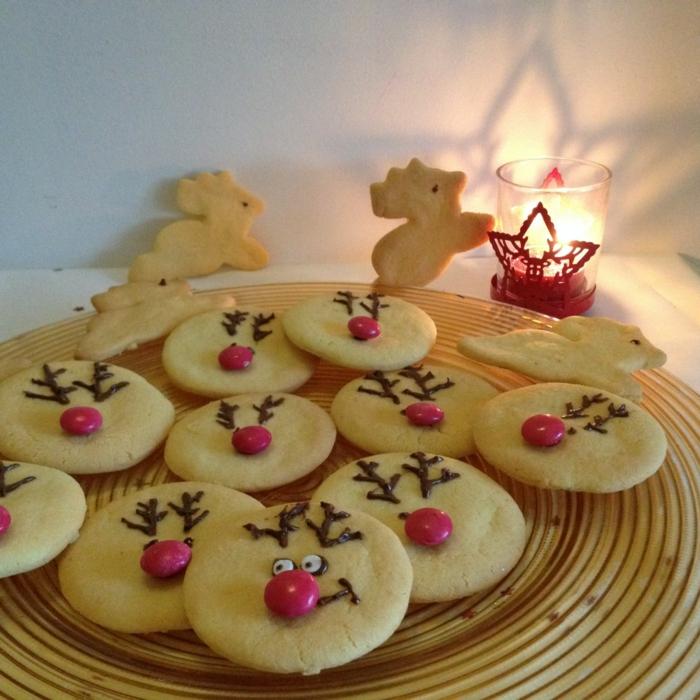 weihnachts kekse-backen-Ren-deko