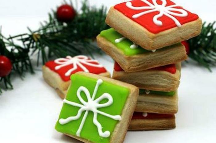 weihnachts kekse-geschenke-form