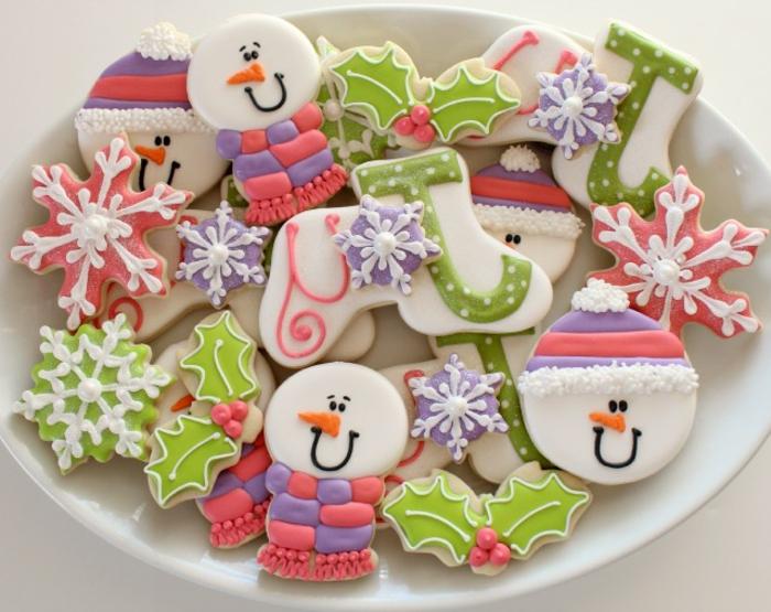 weihnachts kekse-mit-kinder-ideen-spaß
