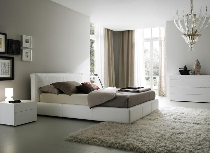 schlafzimmer einrichtungsideen - weiße möbel
