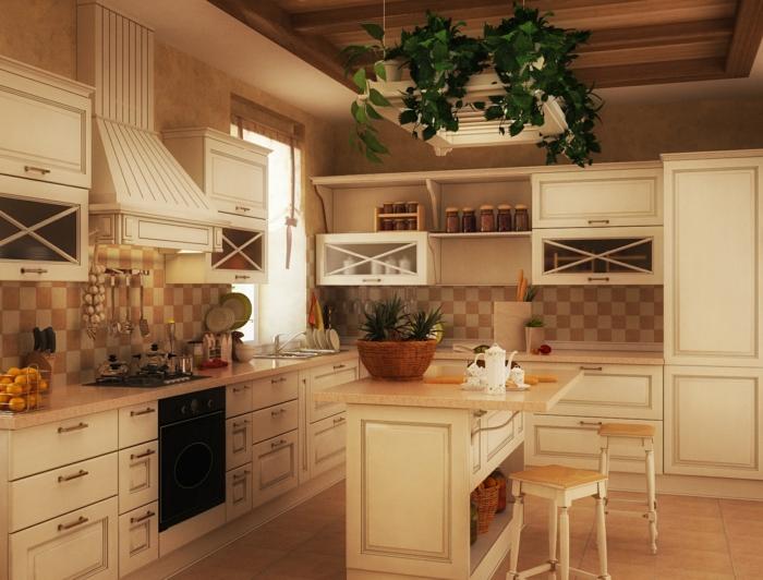 wohnen-im-landhausstil-ideen-für-küche