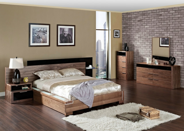 wohnideen fr die schlafzimmer. Black Bedroom Furniture Sets. Home Design Ideas