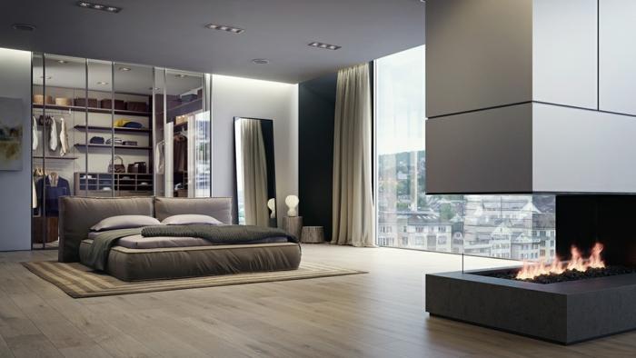 Gro es schlafzimmer einrichten