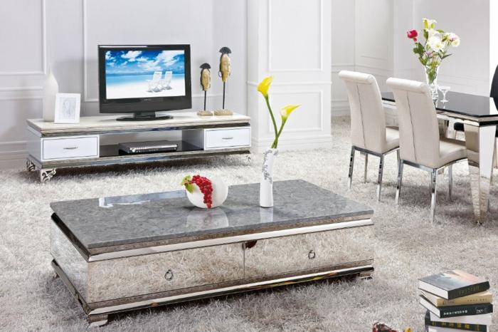 Design Moderne Wohnzimmertische Depumpinkcom Rot Frs