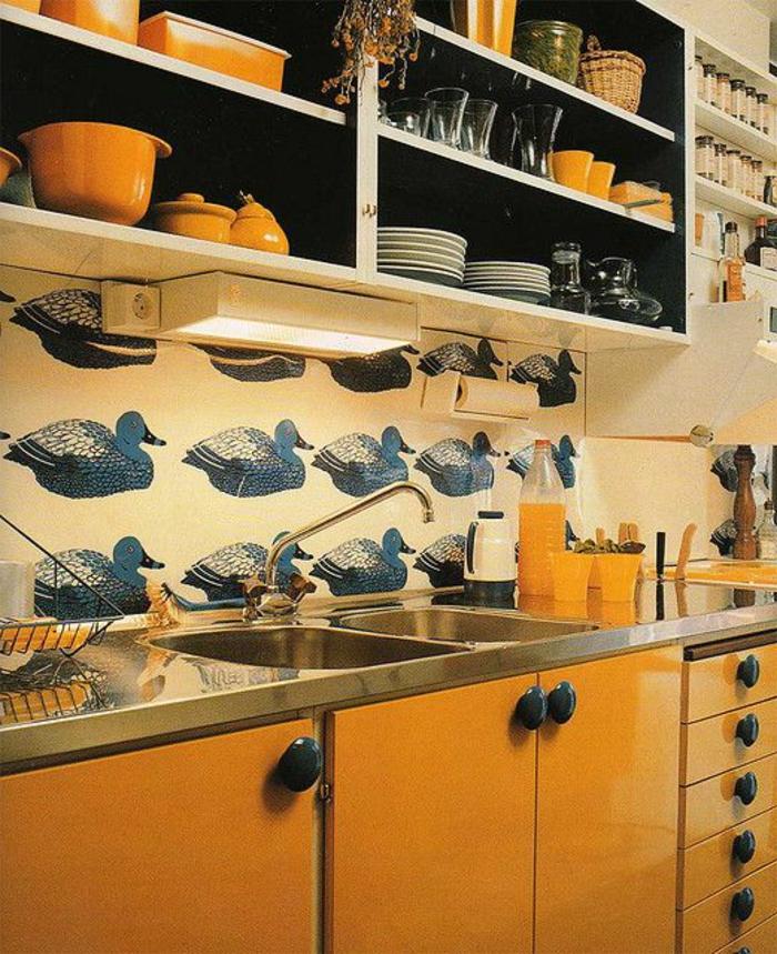 wunderschöne-Tapete-Idee-für-Küche
