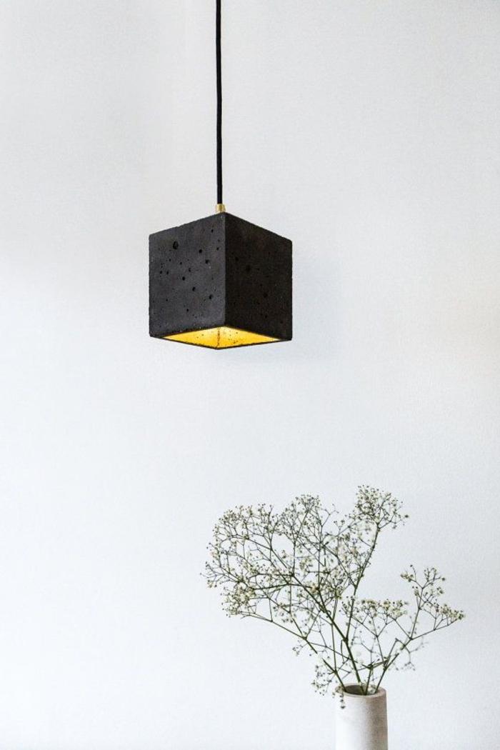 wunderschönes-Modell-schwarze-Designer-Lampe-hängend-quadratische-Form