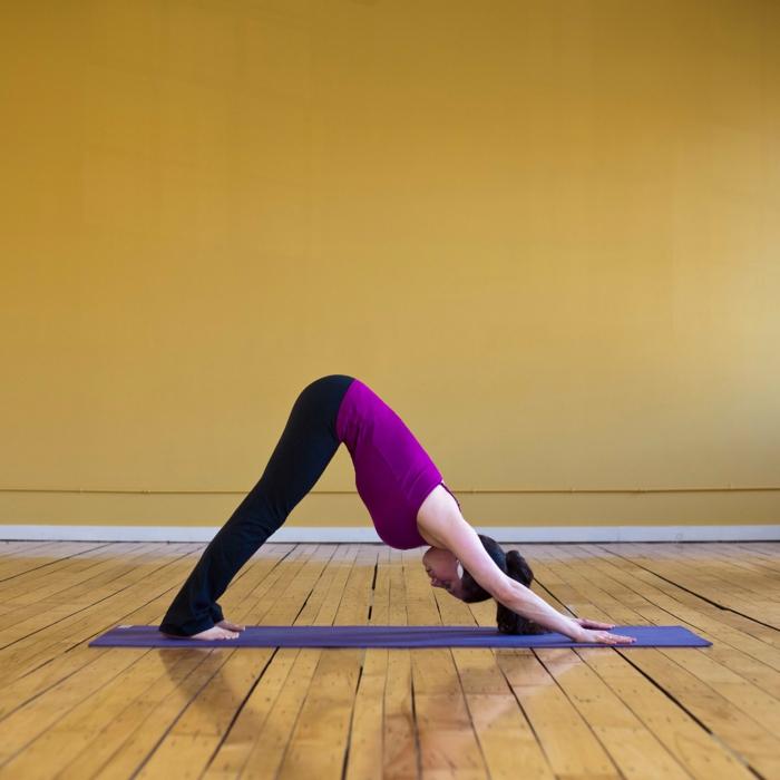 yoga-übungen-der-hund-sehr-interessant