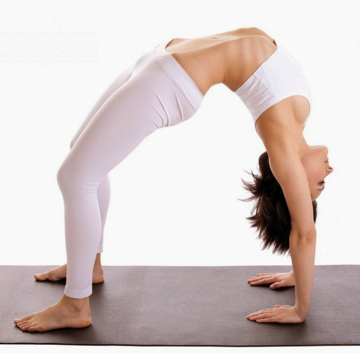 Einige Yoga Übungen, die Sie inspirieren werden ...