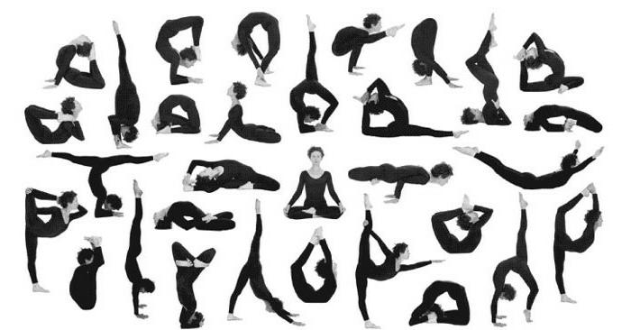 yoga-übungen-viele-verschiedene-positionen-nützliche-illustration