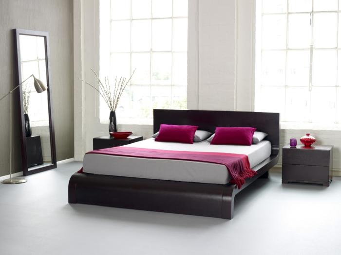 zimmer-einrichten-ideen-modernes-bett-im-schlafzimmer