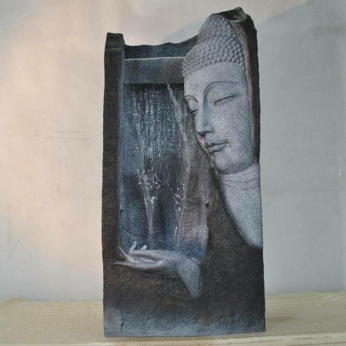 Zimmerbrunnen mit Buddha! Bringen Sie Wärme ins Haus!