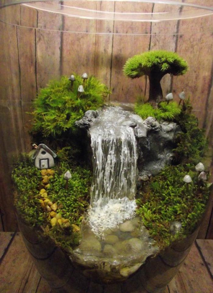 zimmerbrunnen-mit-wasserfall-gemütliches-ambiente- wunderschöne-ausstattung