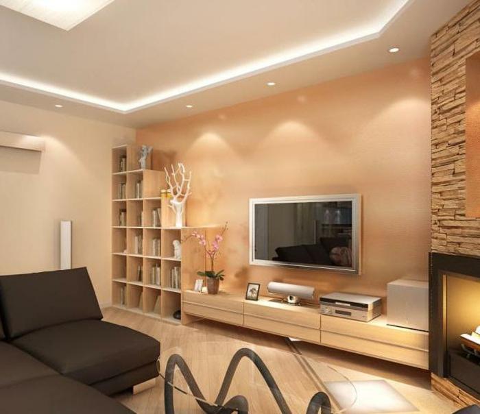 Decke Wohnzimmer Gestalten ~ Wohnzimmerdecke neu gestalten ideen ehrfrchtiges