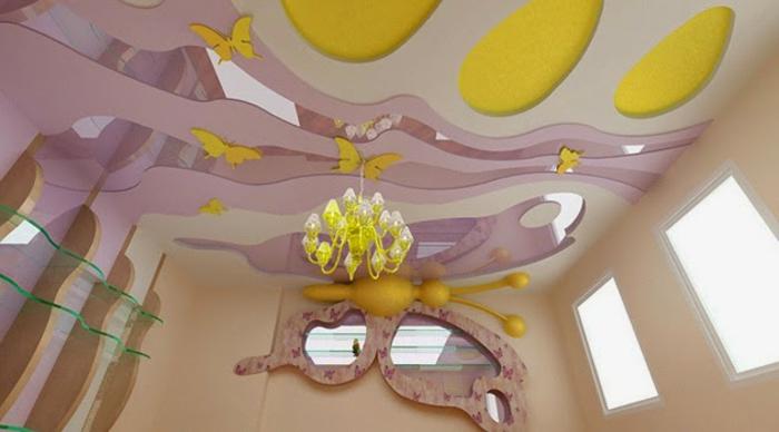 Moderne Zimmerdecken : Moderne Zimmerdecken neu gestalten