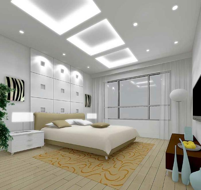 Zimmerdecken Neu Gestalten Unikale Minimalistische Gestaltung Von  Schlafzimmer