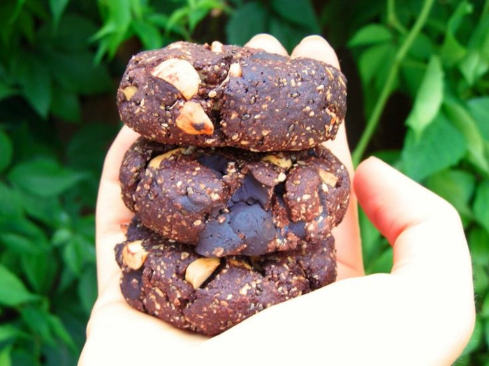 zuckerfreie-Bonbons-gesunde-Schokolade-Cookies