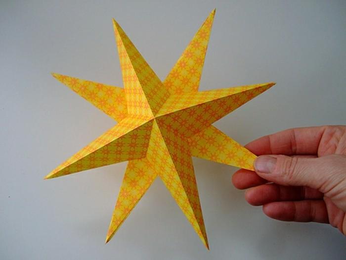 3d-stern-basteln-unikale-gelbe-beleuchtung
