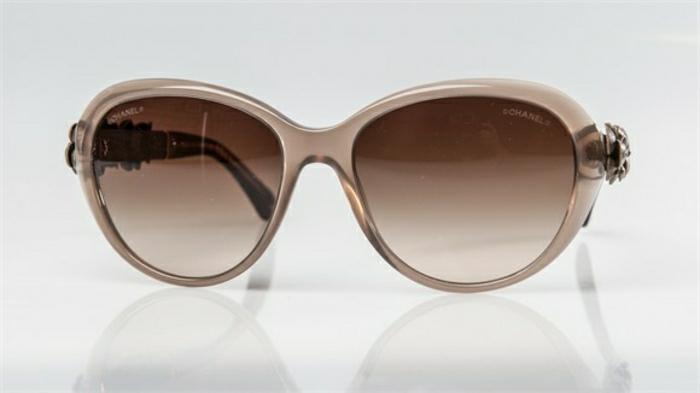 Chanel-Sonnenbrille-braun-