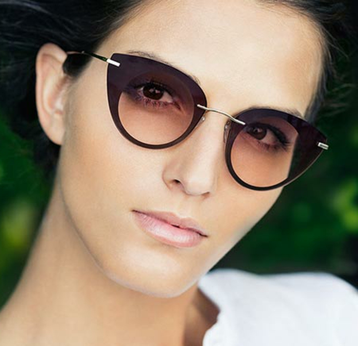 Chanel-Sonnenbrille-metall-rahmen