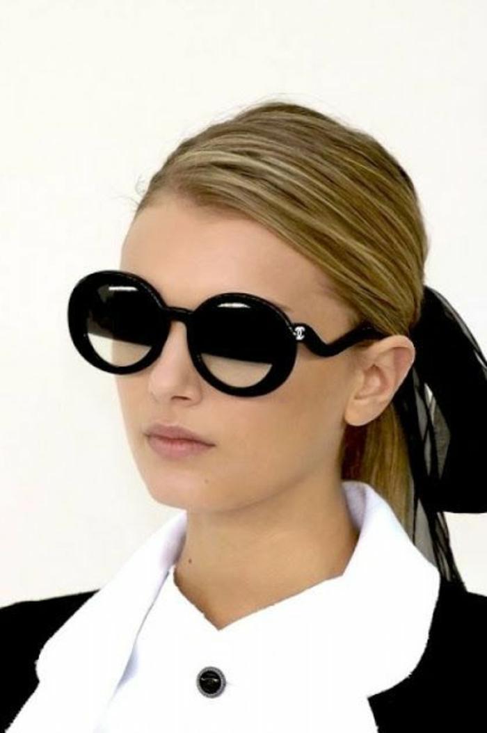 Chanel-Sonnenbrille-rund-und-elegant