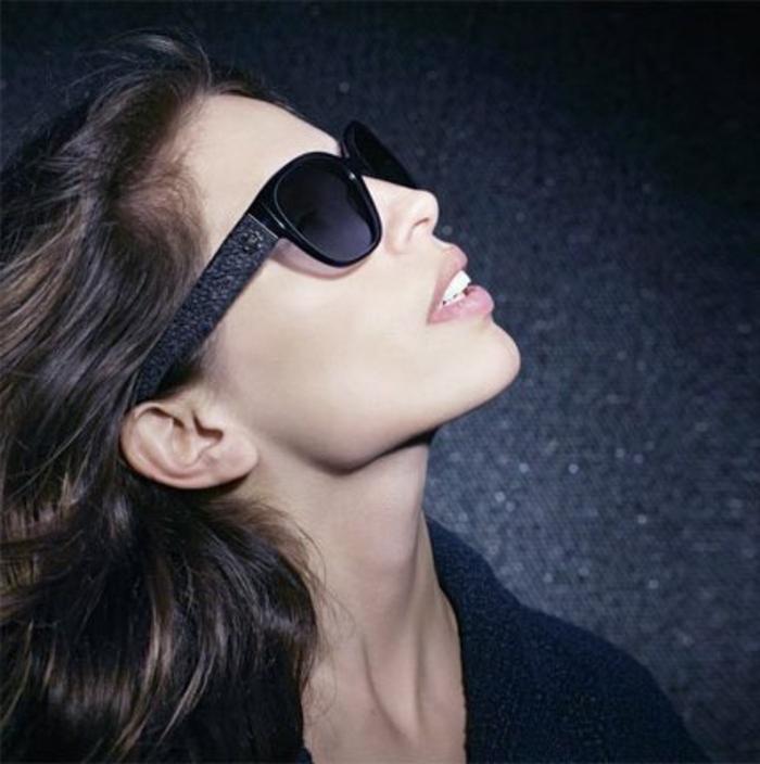 Chanel-Sonnenbrillen-modisch-schwarz