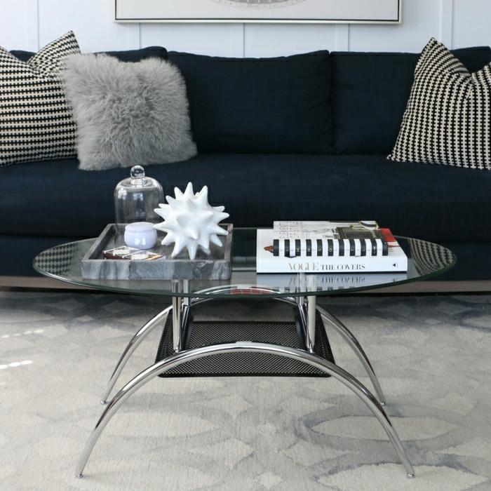 couchtisch glas oval design neuesten. Black Bedroom Furniture Sets. Home Design Ideas