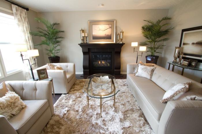 Couchtisch-oval-glas-wohnzimmer-lederbezug-sofa