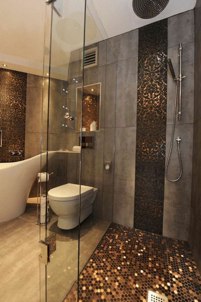 Badezimmer design beispiele  Bad Design Braun | gispatcher.com