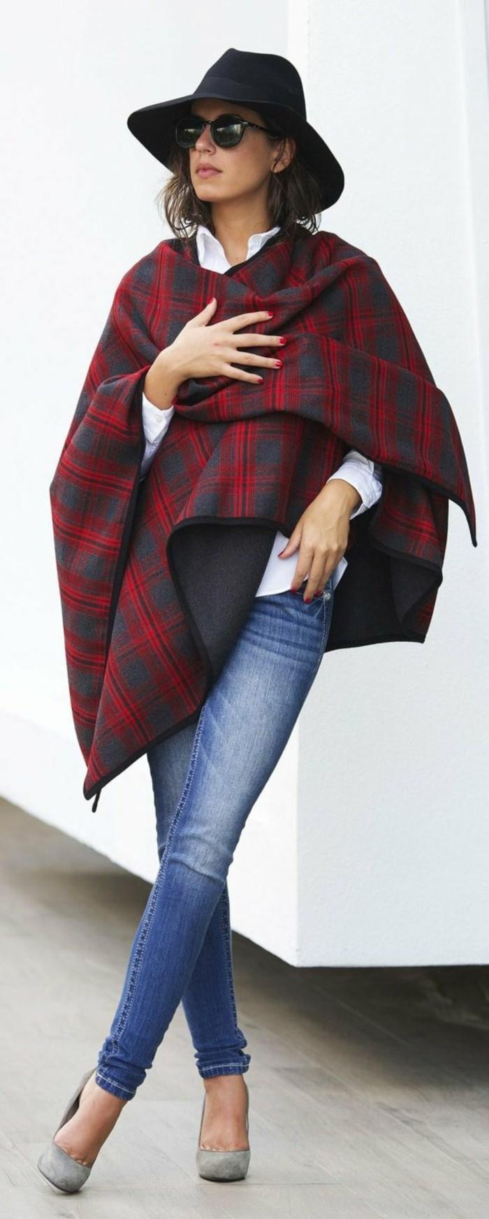 Filzhut-damen-jeans-modelle