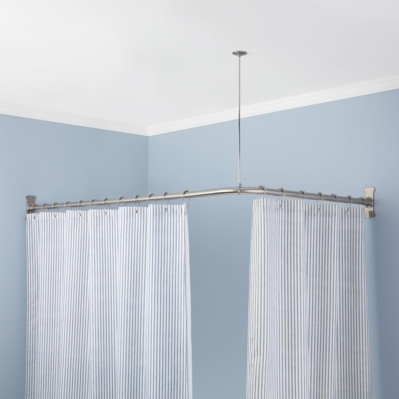 Gardinenschienen-für-den-Badezimmer-Vorhang